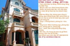 Bán Biệt thự Khu Đô Thị Văn Quan, Quận Hà Đông, Hà Nội ( Vị trí đắc địa, Mặt trước vườn hoa )